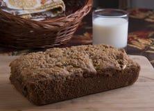 Zimt-Krümel-Brot stockbild