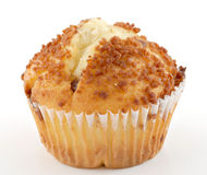 Zimt-Muffin Lizenzfreie Stockfotografie