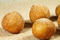 Zimt Sugar Soft Pretzel Bites Lizenzfreies Stockbild