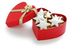 Zimtstern , homemade christmas cookies Royalty Free Stock Images