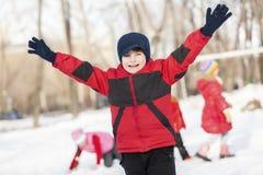 Zimy aktywność Fotografia Stock