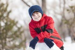 Zimy aktywność Fotografia Royalty Free