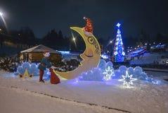 Zimy bajka Fotografia Stock