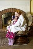 Zimy choroba Obrazy Royalty Free