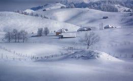 Zimy cisza Zdjęcia Royalty Free