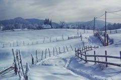 Zimy cisza Fotografia Stock