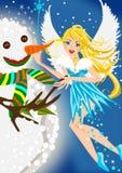 Zimy czarodziejka Zdjęcie Royalty Free