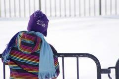 Zimy czekanie Zdjęcia Royalty Free