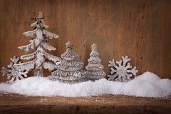 Zimy dekoracja Zdjęcia Royalty Free