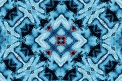 Zimy fantazji abstrakta tło Kalejdoskopowy geometryczny ornament Dekoracyjny poligonalny mozaika wzór ilustracja wektor