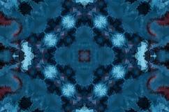 Zimy fantazji abstrakta tło Kalejdoskopowy geometryczny ornament Dekoracyjny poligonalny mozaika wzór royalty ilustracja