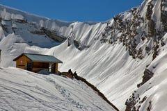 Zimy góra Sochi Rosja Obraz Royalty Free