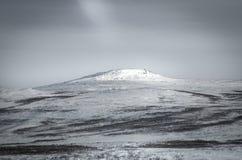 Zimy góry krajobraz Fotografia Stock