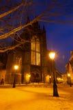 Zimy Hooglandse kościół Zdjęcia Stock