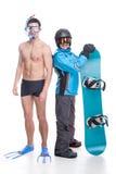Zimy i lata sporty Obraz Stock