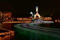 Zimy iluminacja w Mie, Japonia Zdjęcia Stock