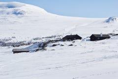 Zimy Jotunheimen park narodowy Fotografia Stock