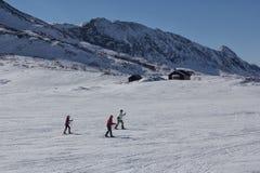 Zimy Jotunheimen park narodowy Zdjęcia Royalty Free