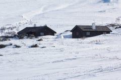 Zimy Jotunheimen park narodowy Zdjęcia Stock