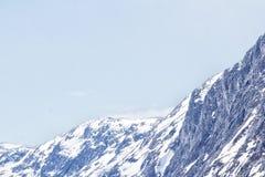 Zimy Jotunheimen park narodowy Zdjęcie Stock