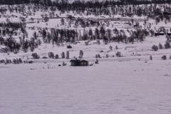 Zimy Jotunheimen park narodowy Obrazy Royalty Free