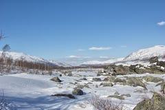 Zimy Jotunheimen park narodowy Obraz Stock