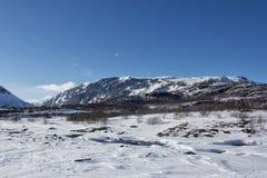 Zimy Jotunheimen park narodowy Obrazy Stock