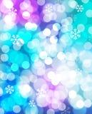 Zimy karta Zdjęcie Royalty Free