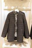 Zimy kobiety kurtka Zdjęcie Stock