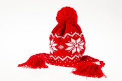Zimy kobiety nakrętka Zdjęcie Stock