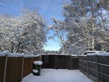 Zimy kraina cudów przy bożymi narodzeniami Obraz Stock