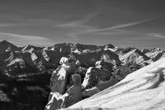 Zimy kraina cudów w St Michael zdjęcie stock