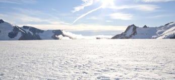Zimy krajobrazowa panorama Obraz Royalty Free