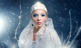 Zimy królowa Zdjęcie Royalty Free