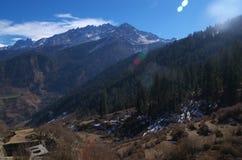 Zimy Kuari przepustki krajobraz Obraz Stock