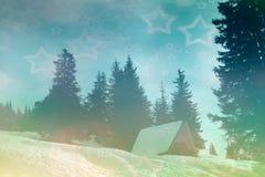 Zimy magii tło Obraz Stock