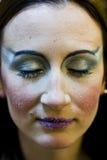 Zimy makeup fotografia royalty free