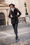Zimy mody piękno Obraz Stock