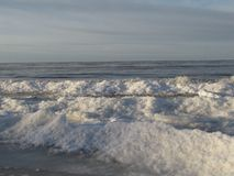Zimy morze Obraz Stock