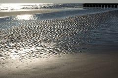 Zimy morze Adriatic Obraz Royalty Free