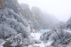 Zimy muntain Fotografia Stock