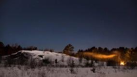 Zimy Nighttime upływ zbiory