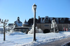 Zimy piękno w Niagara Spada Kanada Obrazy Stock