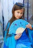 Zimy princess Fotografia Stock