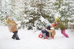 Zimy przejażdżka Obraz Stock