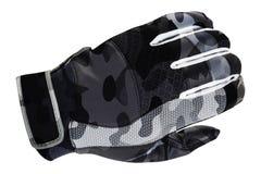 Zimy rękawiczka odizolowywająca na bielu zdjęcia stock