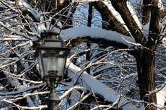 Zimy scena w Florencja Zdjęcia Royalty Free