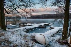 Zimy schronienie Zdjęcia Stock