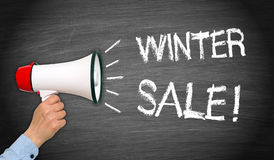 Zimy sprzedaż! Zdjęcia Royalty Free