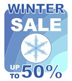 Zimy sprzedaż Zdjęcia Royalty Free
